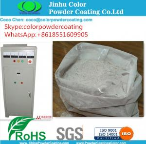 Wholesale Electrostatic Glossy Smooth Powder Coating Polyester Resin Lead Free RAL 1018 from china suppliers