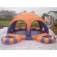 Wholesale Inflatable Water Pool With Tent Cover And Platform For Water Walking Ball from china suppliers