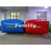Wholesale Portable Paintball Bunker Inflatable Sport Games Red and Blue from china suppliers