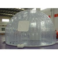 Wholesale Outdoor Event advertising inflatable bubble tent with transparent color or customized from china suppliers