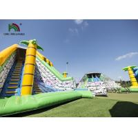 Wholesale Multiplay Combo Playground Inflatable Amusement Park Bright Color Durable from china suppliers
