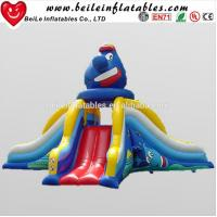 China Funny clown big inflatable water slide and used inflatable water slide for sale on sale