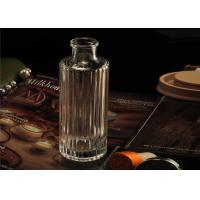 Customized Home Fragrance Empty Reed Perfume Glass Diffuser Bottle With Cap
