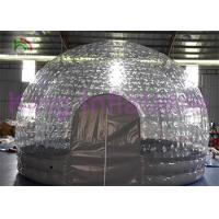 Wholesale Water Resistant Inflatable Bubble Tent For Backyard / Park / Camping / Rental from china suppliers