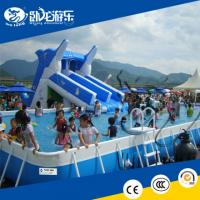 Wholesale CE certified Water Park outdoor slide playground , swiming pool outdoor water from china suppliers