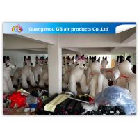 Wholesale PVC Airtight White Inflatable Dog 2.2m High For Advertisement ODM from china suppliers