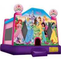 Wholesale Disney Princess Bounce House  13'W x 13'L (+ Step) x 13'H from china suppliers