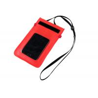 China PVC Waterproof Bags for Cell Phone Surfing Dry Drawstring Pouch Phone Carrying Case on sale