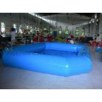 Wholesale Square Blue Inflatable Swimming Pool from china suppliers