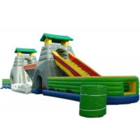 Wholesale 4 In 1 Children Inflatable Bouncer Combo With Slide / Bridge / Tunnel And Jumper from china suppliers