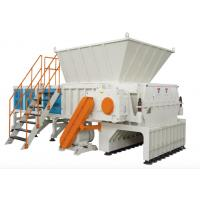 Wholesale High Capacity Plastic Waste Recycling Machine Single Axle Shaft Shredder 380V from china suppliers