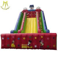 Wholesale Hansel amusement park play ground outdoor inflatable water slide for water park from china suppliers