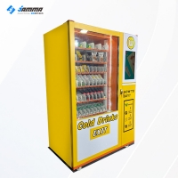 Wholesale 21.5 inch Touch Screen Milk Food Snack Drink Vending Machine 24 Hours Service from china suppliers