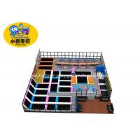 Wholesale Indoor Jump Trampoline Park 12 Months Warranty / Trampoline Jumping Bed For Kids from china suppliers