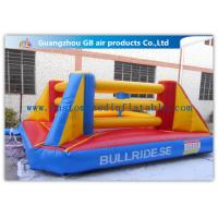 Wholesale Exciting Sports Game Inflatable Bounce House Boxing For Kids Playing from china suppliers