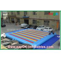 Wholesale 0.55mm PVC Inflatable Mat Bouncer For Children Playing Sports Game from china suppliers