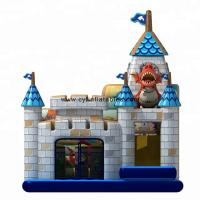 Quality Children Inflatable Jumping Castle Dragon 5×5 Meter Inflatable Bouncers for sale