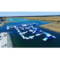 Buy cheap Free Customized Inflatable Floating Water Playground / Perth Lake Inflatable from wholesalers
