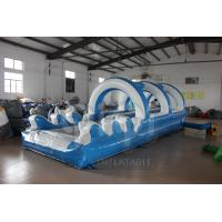 Wholesale Double Lane Slip And Slide With Pool from china suppliers