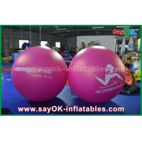 Wholesale Giant 2m DIA PVC Red Inflatable Balloon Outdoor Advertising Inflatable Helium Balloon from china suppliers