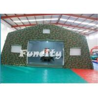 Wholesale Inflatable Army Tent for Military Use/ Mobile Inflatable Building from china suppliers