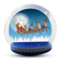 Wholesale Easy Access Entrance Tunnelinflatable Snow Globe Custom Color CE from china suppliers