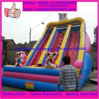 Wholesale Inflatable Cool Jumping Pirate Slide Bouncer Inflatable Castle Slide from china suppliers