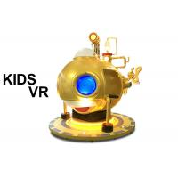 China Dynamic Electric Platform Kids VR Game Machine 2 or 4 Seats with VR Glasses on sale