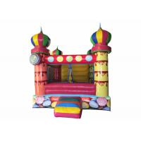 Wholesale Small inflatable bouncer with net around / inflatable ball pool bouncer colourful inflatable mini balloon jumping house from china suppliers
