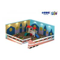 Wholesale Jungle Theme Kids Play Sand Pit Indoor Soft Play Playground Equipment With Soft Ball Pool from china suppliers