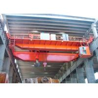 Buy cheap 20 Ton Heavy Duty Double Girder Eot Crane Cabin Control Electric Trolley from wholesalers