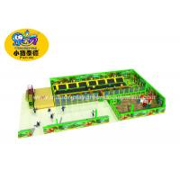 Wholesale Commercial Jump Trampoline Park With Many Games / Trampoline Indoor Playground from china suppliers
