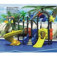 China New, large outdoor water slide, indoor and outdoor children's water park, plastic slide fountain, outdoor pool rides on sale