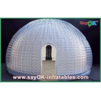 China 8 Person Vinyl Inflatable Air Tent Dome Inflatable Bubble Tent For Entertainment on sale