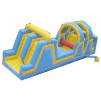 Wholesale Dual Lanes Inflatable Obstacle Courses Reliable And Durable Material from china suppliers