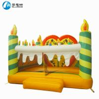Wholesale Colorful Commercial PVC Inflatable Jumping Castle Birthday Cake Pattern For Kids from china suppliers