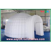China Led Lights Inflatable Air Tent , Diameter 5m Inflatable Dome Tent on sale