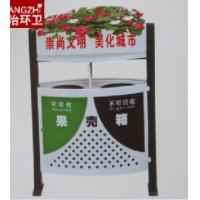 Wholesale Outdoor trash cans ,FRP quality steel Trash Bins,Waste bins from china suppliers