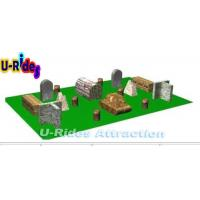 Wholesale 20 Pieces Inflatable Paintball Field / Tactical Inflatable Paintball Arena For Kid from china suppliers