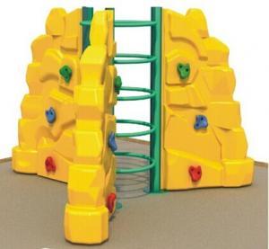 China kids plastic climbing wall on sale