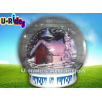 China 0.55mm PVC Inflatable Bubble Tent , Inflatable Human Snow Globe 3m Diameter on sale