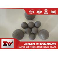 Wholesale High Impact Toughness forged grinding balls for cooper mining special used from china suppliers