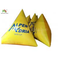 Wholesale Yellow Color Water Sports Games 2*2*2 M Inflatable Floating Buoy from china suppliers