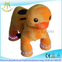 Wholesale Hansel animal kids-coin-operated pug walking animal rides from china suppliers