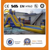 Wholesale 2014 hot sale giant inflatable water slide for adult from china suppliers