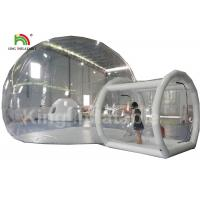 Wholesale 6m Diameter Transparent Inflatable Bubble Tent With Tunnel For Outdoor Camping Rent from china suppliers