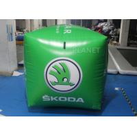 Wholesale Green Square Shape Inflatable Race Marker Buoys For Swim Event EN71 from china suppliers