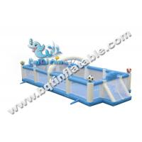 Wholesale Inflatable football pitch,inflatable soccer field,inflatable sports game from china suppliers