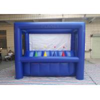 Wholesale Dark Blue Hoverball Archery Inflatable Game 3.1 X 1.5 X 2.4 M Fit Entertainment from china suppliers