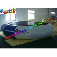China Durable Inflatable Water Toys 0.9 mm PVC Inflatable Water Trampolin For Sea on sale